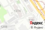 Схема проезда до компании Евростом в Барнауле