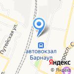 Барнаульский отряд ведомственной охраны на Западно-Сибирской железной дороге на карте Барнаула