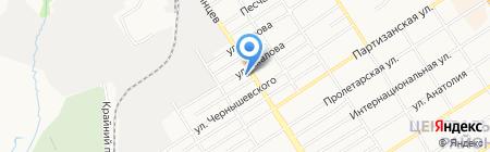 Фруктайм на карте Барнаула