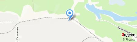СПТК на карте Барнаула