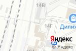 Схема проезда до компании Барнаульский отряд ведомственной охраны на Западно-Сибирской железной дороге в Барнауле