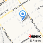 Территориальный отдел надзорной деятельности №1 на карте Барнаула