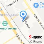 Заборы и ограждения на карте Барнаула