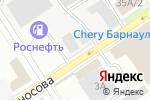 Схема проезда до компании ЭлКом в Барнауле