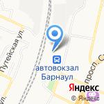 Экспресс-кафе на карте Барнаула