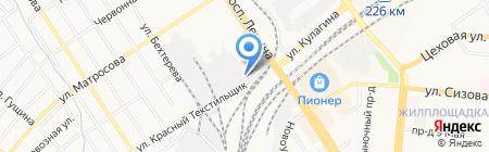 АБРАМС на карте Барнаула