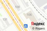 Схема проезда до компании Транспортная компания в Барнауле