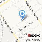 Сборный пункт Алтайского края на карте Барнаула