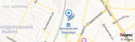 СварсДизель на карте Барнаула