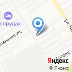 Банька на Прудском на карте Барнаула