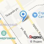 Фундамент Сибири на карте Барнаула