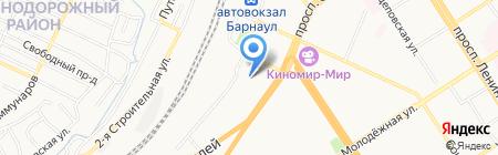 Федеральный центр гигиены и эпидемиологии по железнодорожному транспорту на карте Барнаула