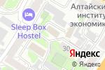 Схема проезда до компании Центр гигиены и эпидемиологии по железнодорожному транспорту, ФБУЗ в Барнауле
