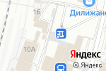 Схема проезда до компании СварсДизель в Барнауле