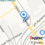 Элитное на карте Барнаула