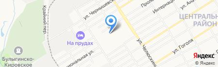 Детский сад №177 на карте Барнаула