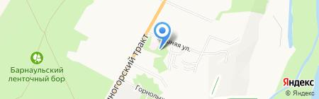 Поликлиника на карте Барнаула