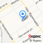 Центр материально-технического обеспечения федеральной противопожарной службы по Алтайскому краю на карте Барнаула