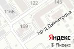 Схема проезда до компании Тектоника в Барнауле