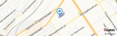 Молочная сказка на карте Барнаула