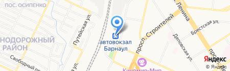Мастерская по изготовлению ключей и ремонту часов на карте Барнаула