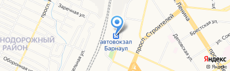 Авиакасса на карте Барнаула