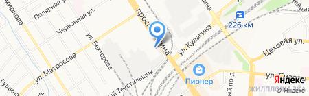 Банк ОТКРЫТИЕ на карте Барнаула