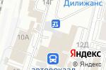Схема проезда до компании ЕвроАзияМоторс в Барнауле