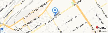 ЛЕОН-ПЛЮС на карте Барнаула