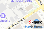Схема проезда до компании Авиатор в Барнауле