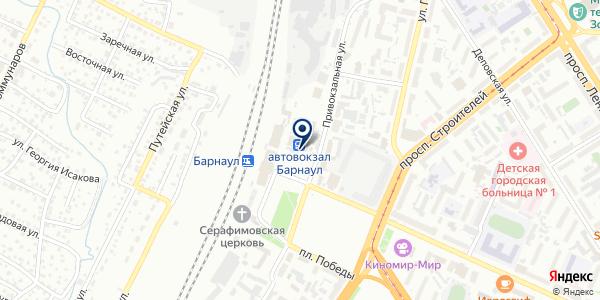 OZON.ru на карте Барнауле