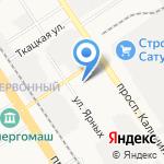 Мастер на карте Барнаула