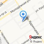 Академия продаж на карте Барнаула