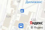 Схема проезда до компании Деловой успех в Барнауле