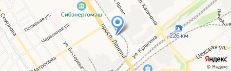 Альфа-Банк на карте Барнаула