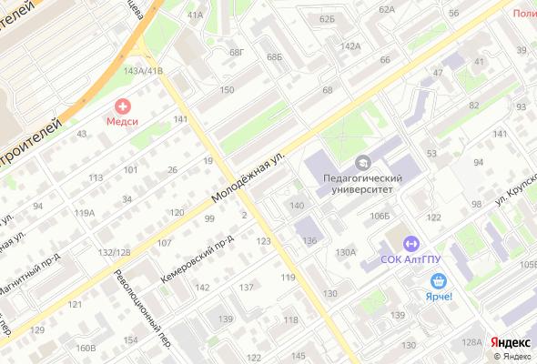 продажа квартир ул. Молодежная, 59