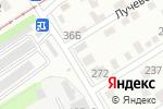Схема проезда до компании Тайм-аут в Барнауле