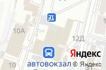 Схема проезда до компании Мозайка в Барнауле