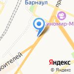 Вундеркинд на карте Барнаула