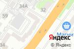 Схема проезда до компании Бьютелль в Барнауле