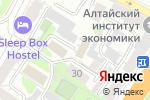 Схема проезда до компании Западно-Сибирский территориальный отдел управления Роспотребнадзора по железнодорожному транспорту в Барнауле
