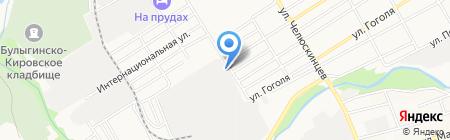 БасС-Алтай на карте Барнаула