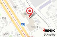 Схема проезда до компании Роско в Барнауле