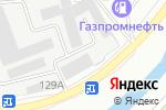 Схема проезда до компании Новый креатив в Барнауле