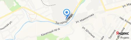 Сибагробизнес на карте Барнаула