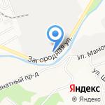 Алтайская Марка на карте Барнаула