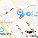 Подкова на карте Барнаула