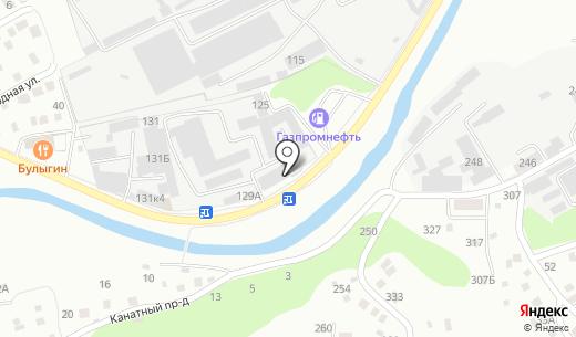 Строй-Инвест. Схема проезда в Барнауле