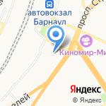 Западно-Сибирский территориальный отдел управления Роспотребнадзора по железнодорожному транспорту на карте Барнаула