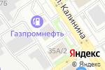 Схема проезда до компании Савелий в Барнауле